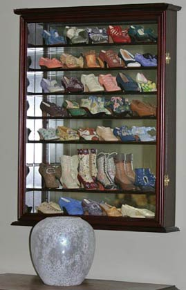 Details about Display Case for Just the Right Shoe, Merry Miniatures