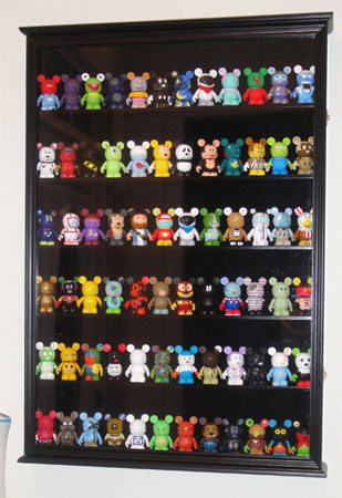 Vinylmation Figurine Miniature Shadow Box Display Case