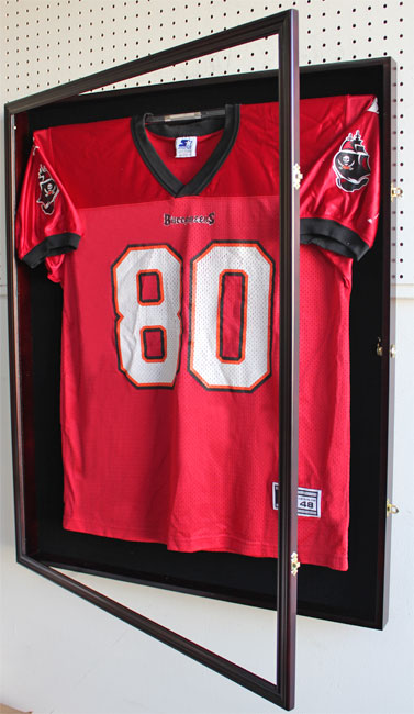 Shadow Box For Xl Football Hockey Jersey Case Frame Lock
