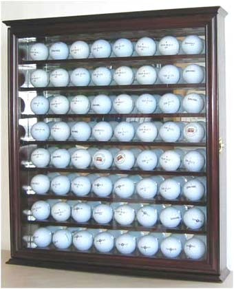 64 Golf Ball Display Cabinet
