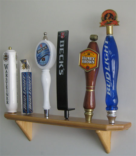 Beer Tap Handle Display Rack