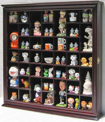 Collectible display cabinet - Salt and pepper shaker display case ...