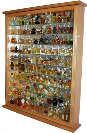 Perfume Bottle Display Case